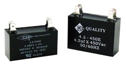 QE MINI-SPLIT CAPACITORS (450 VOLTS)