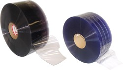 PVC STRIP CURTAIN (BULK 300')